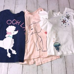 Bundle of 3 tops size 4 Carter's/Truly Me